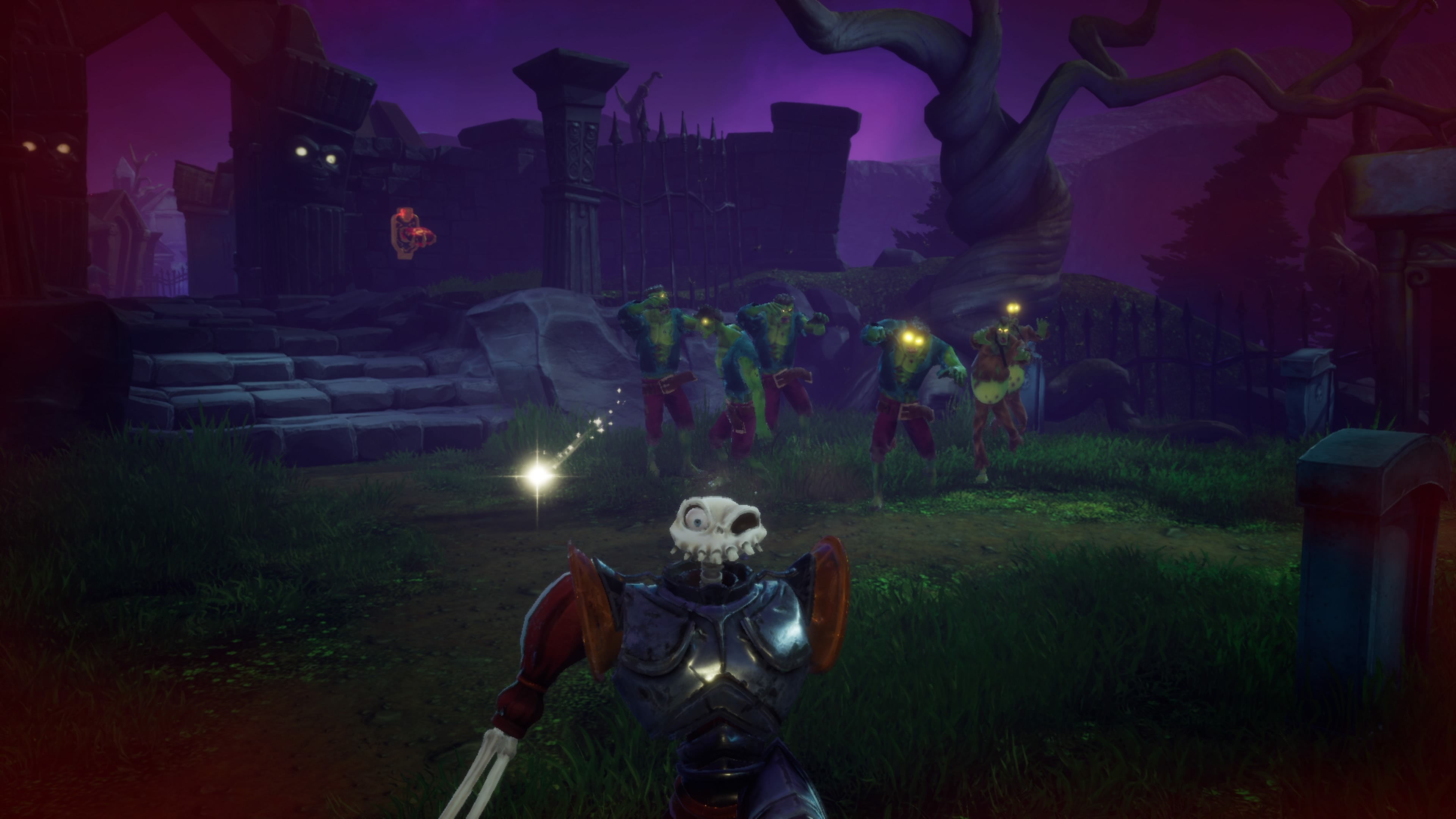 Battlefield Fantasy Graveyard Art