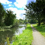 Serene scene down the canal at Preston