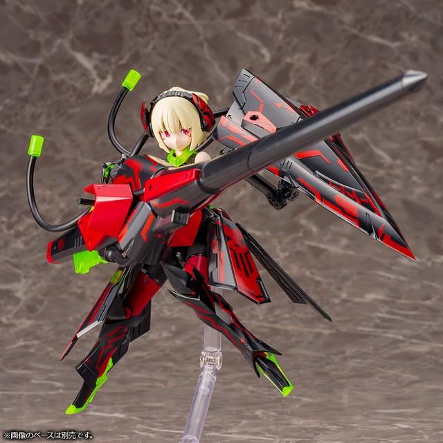 表現詭譎與恐懼的新色調!壽屋《女神裝置》銃彈騎士 地獄槍兵(BULLET KNIGHTS LANCER HELL BLAZE) 組裝模型