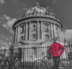 Monochrome Red in Oxford