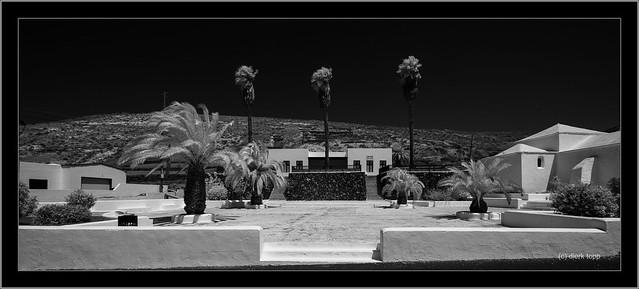 Lanzarote, infrared