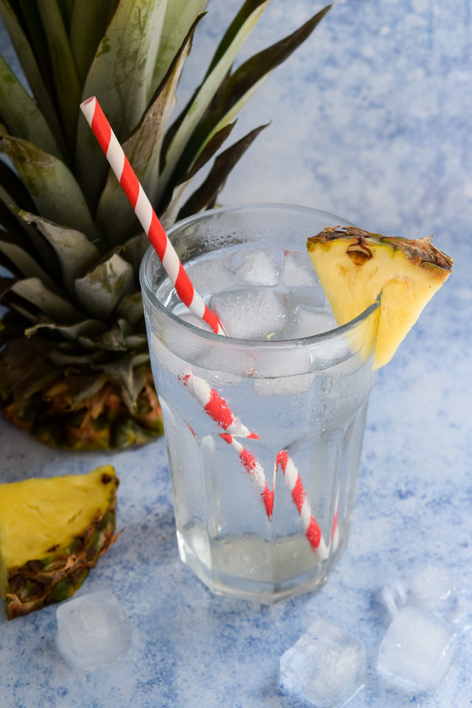 Homemade Pineapple Shrub
