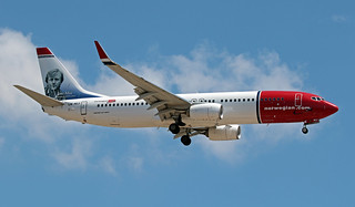 LN-NIJ LMML 17-08-2019 Norwegian Boeing 737-8JP CN 42094