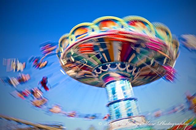 Wave Swinger Carousel Ride