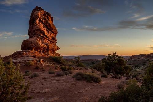 arches nationalpark usa moab landscape sunset sunrise colors desert fz1000