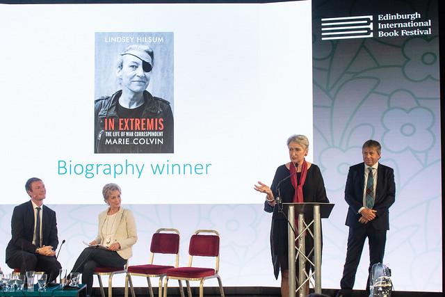 James Tait Black Prize for biography: Lindsay Hilsum