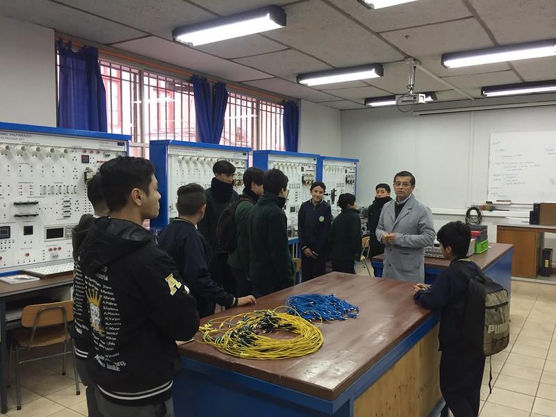 Escuelas Básicas Recorren Formación TP Salesiana