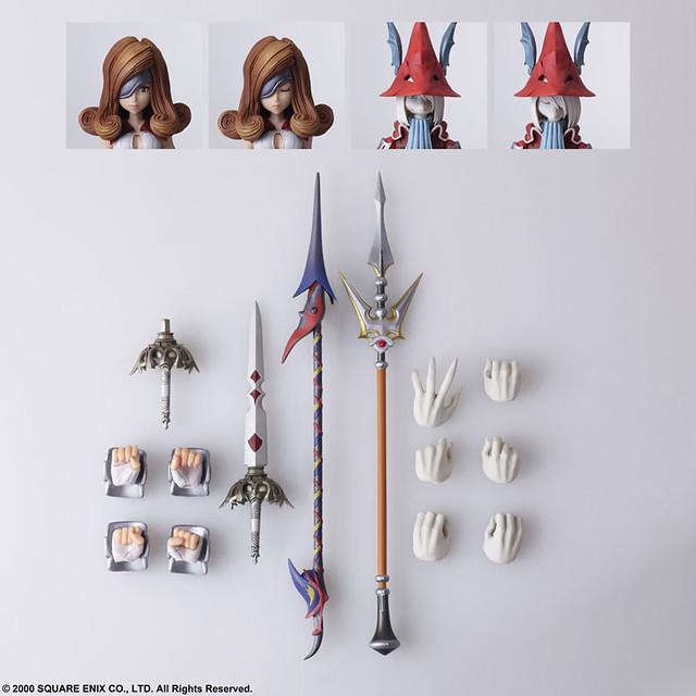 BRING ARTS《FINAL FANTASY IX》芙萊雅 & 蓓雅托莉克絲(フライヤ&ベアトリクス)6吋可動人偶