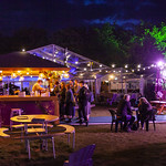 Book Festival Village at night | © Robin Mair