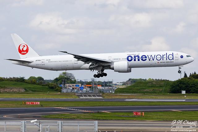 Japan Airlines [JL][JAL] / JA732J / 777-346ER / RJAA / One World