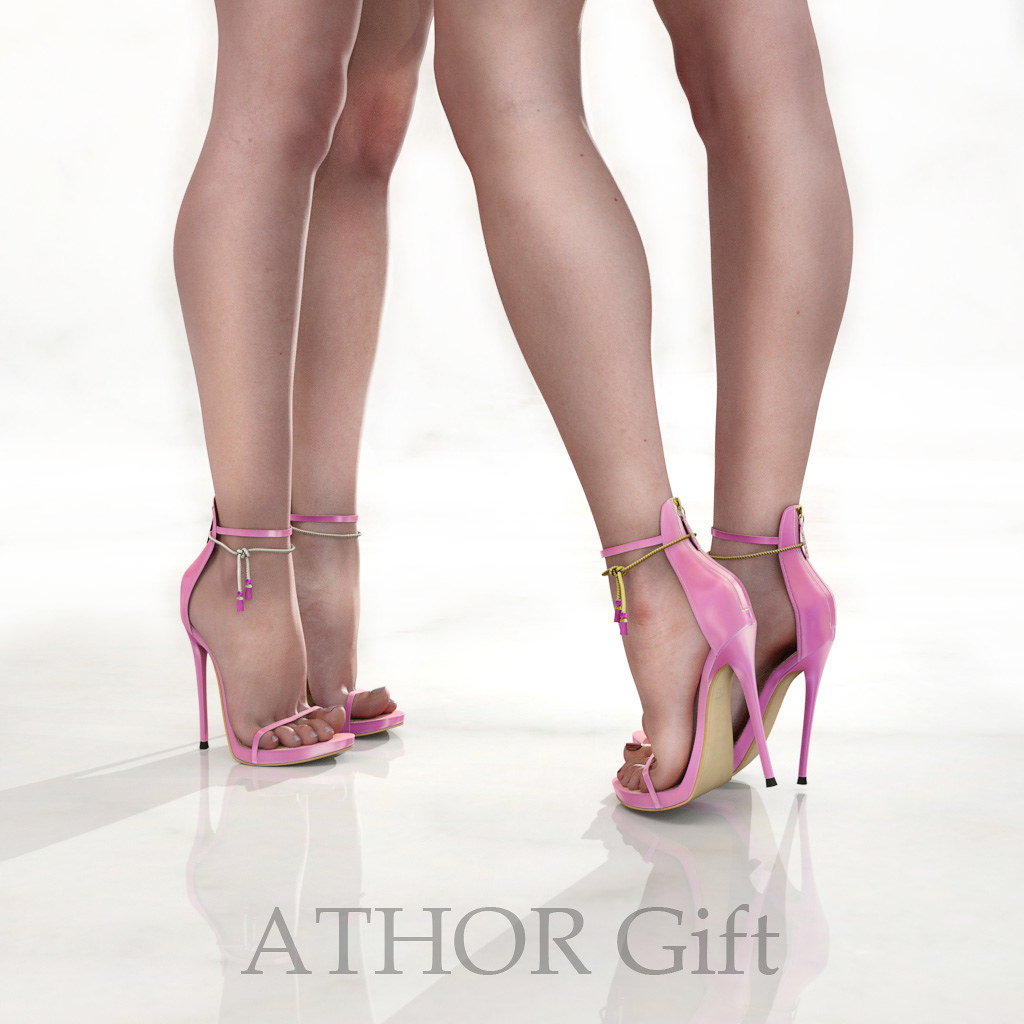 ATHOR – Gift _Barbara Shoes – Pink