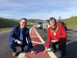 Newtown Bypass Opening | by Montgomeryshire Conservatives