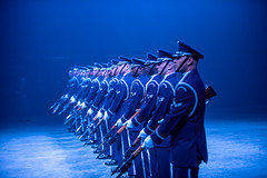 United States Airforce Honor Guard Drill Team