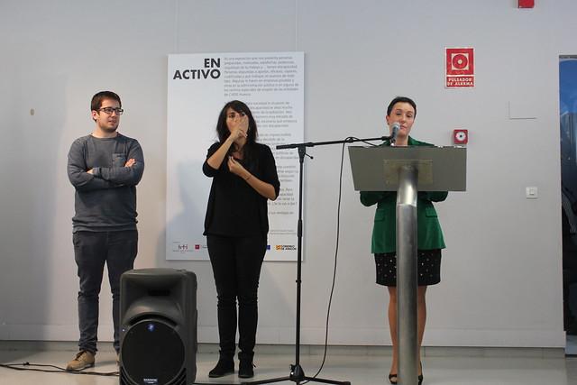 Inauguración exposición fotográfica En Activo