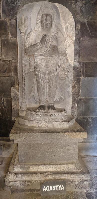 Agastya en templos de Prambanan