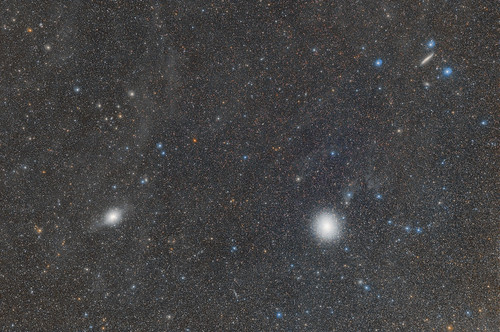 Omega Centauri and CenA in the flux