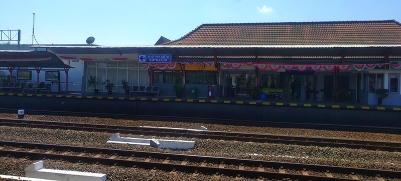 Estación tren de aeropuerto de Yogyakarta