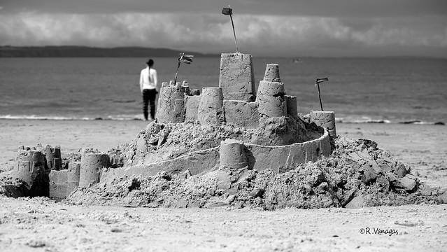 The untouchable sand castle_ 2019_ Nairn_ Scotland