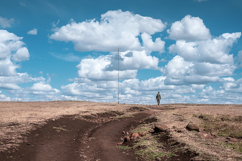 kenya myfujifilmlegacy ngonghills cloud clouds landscape outdoor path people sky soldier kajiado riftvalleyprovince