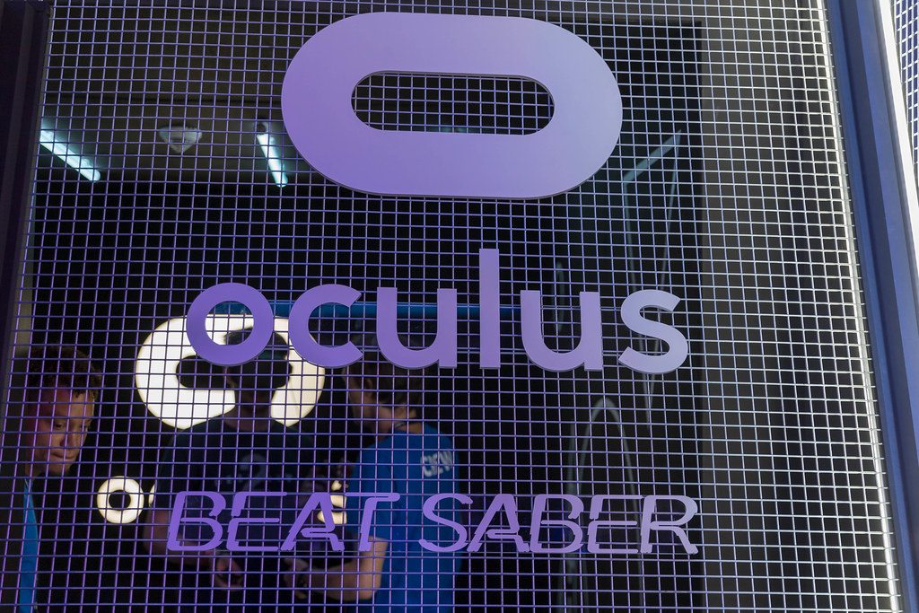 Virtual Reality auf der Gamescom: Oculus Rift Beat Saber