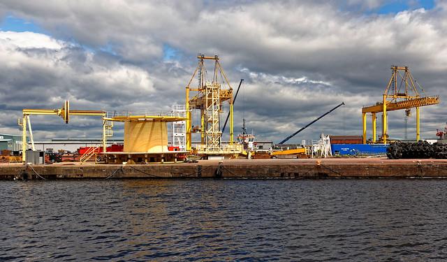 Edingurg / Port of Leith / Albert Dock Basin / Forth Ports
