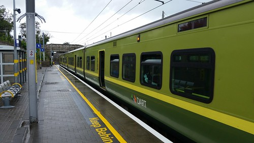 Train Departing Dalkey