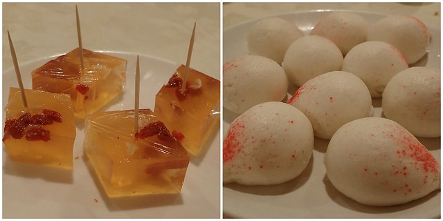 From Left to Right: Jello and Buns, Very Fair Chinese Restaurant 同德樓, 4002 Sheppard Avenue East, Scarborough, Toronto, ON