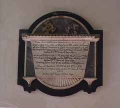 Thomas Blake and two wives 1781, 1801, 1813