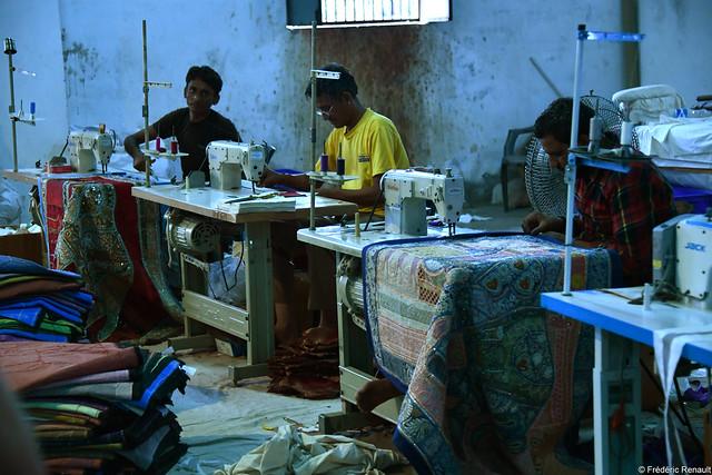 Manufacture de tissu