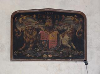 Elizabeth II royal arms 1953