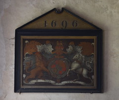 William III and Mary II royal arms 1696