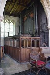 screen and organ case