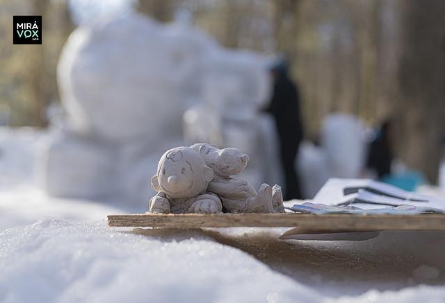 Festival Nacional de Esculturas en la Nieve (FENU) 2019