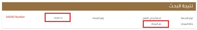3632 How to check if Work Permit Levy (Maktab-al-Amal Fee) has been paid on your account 02
