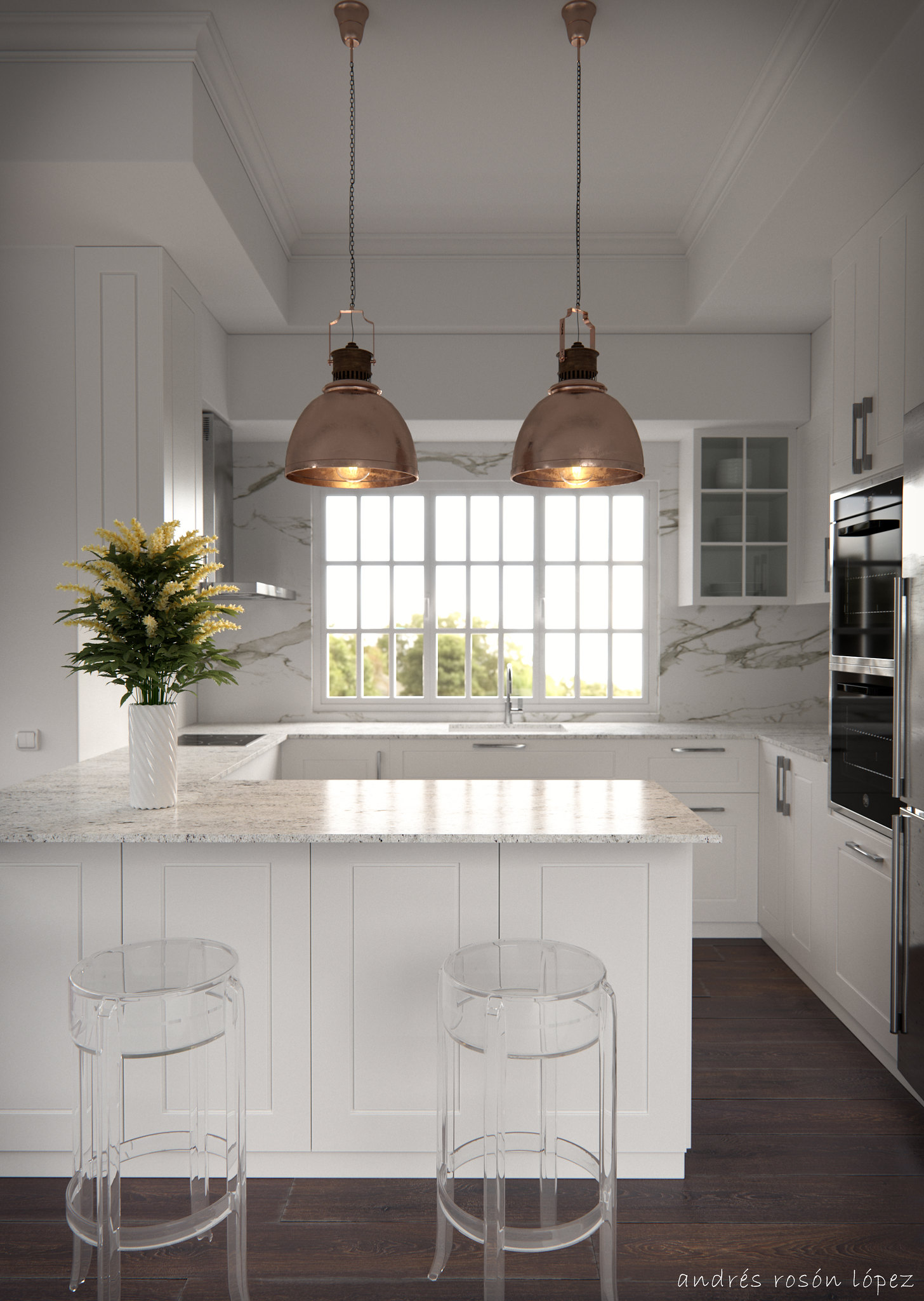 Classic Kitchen_CGI