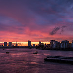 18. August 2019 - 19:13 - Looking towards central London from Greenwich