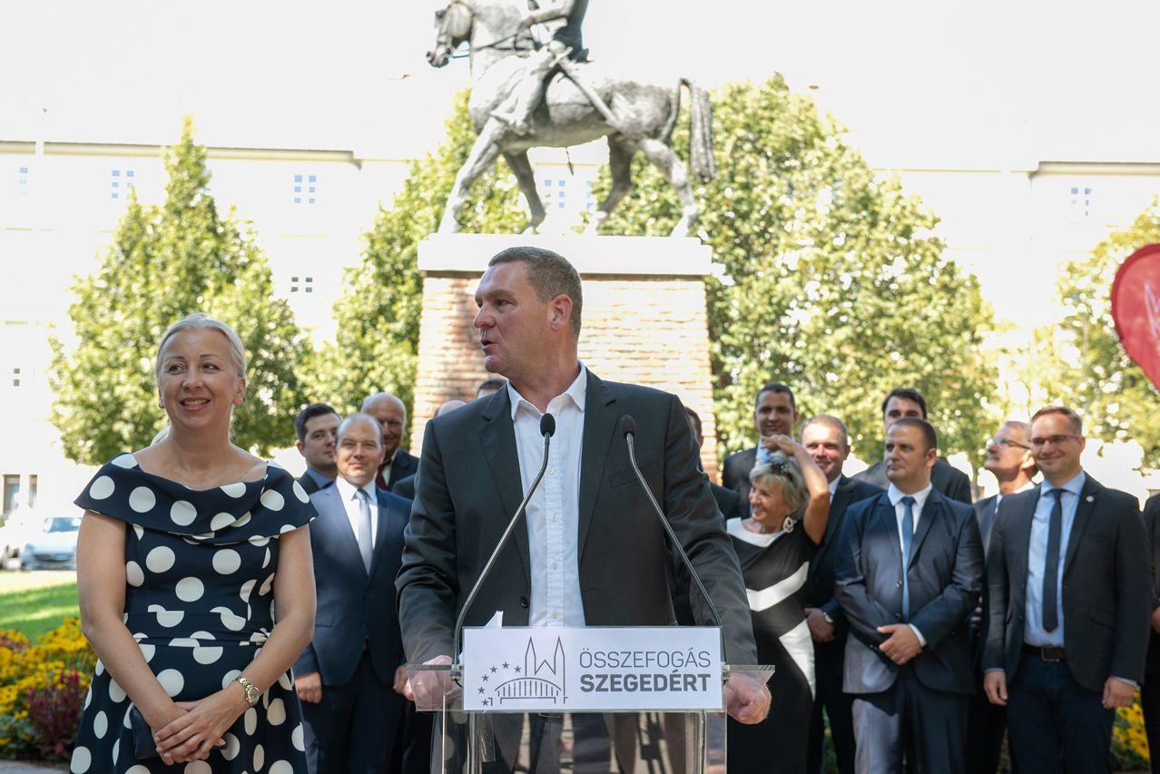 Botka László hivatalosan is bejelentette, újraindul Szeged polgármesterségéért