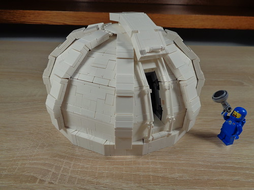 Finished observatory dome