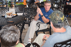 Rep. Ackert hosted a legislative update at the Main Moose restaurant in Columbia
