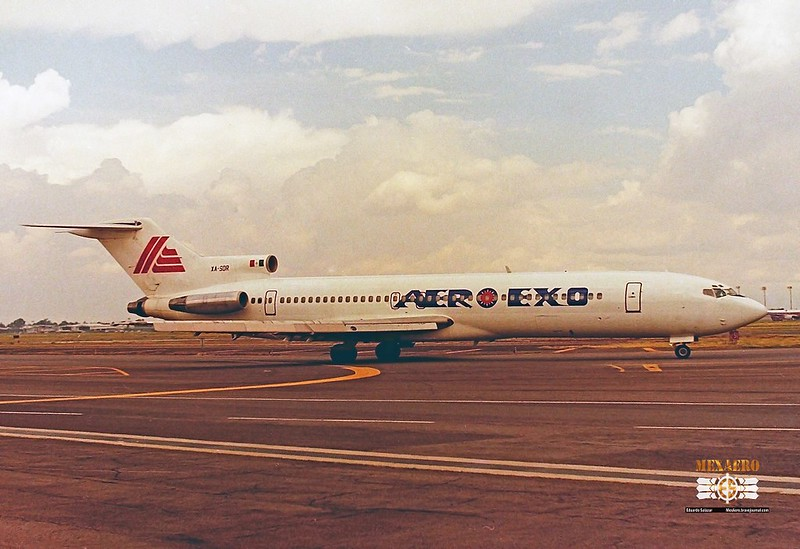 Aero Exo / Boeing 727-276 (Adv) / XA-SDR