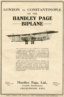 The Handley Page Biplane