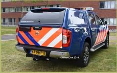 Dutch Marechaussee Nissan.