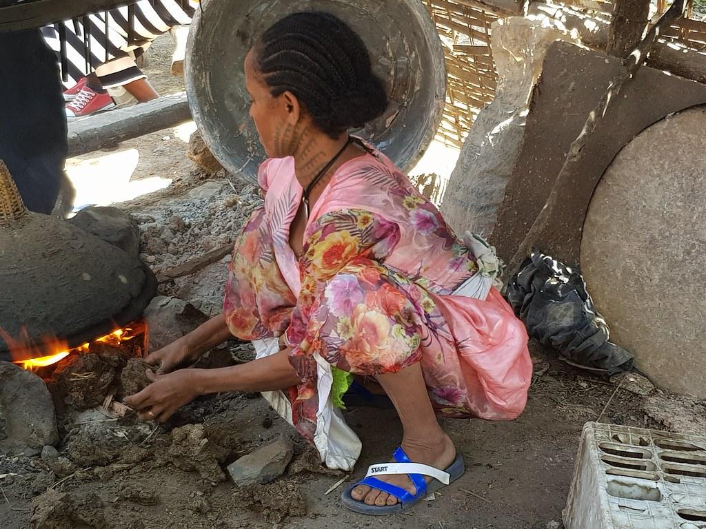 Jak się robi indżerę w tradycyjny sposób, Etiopia