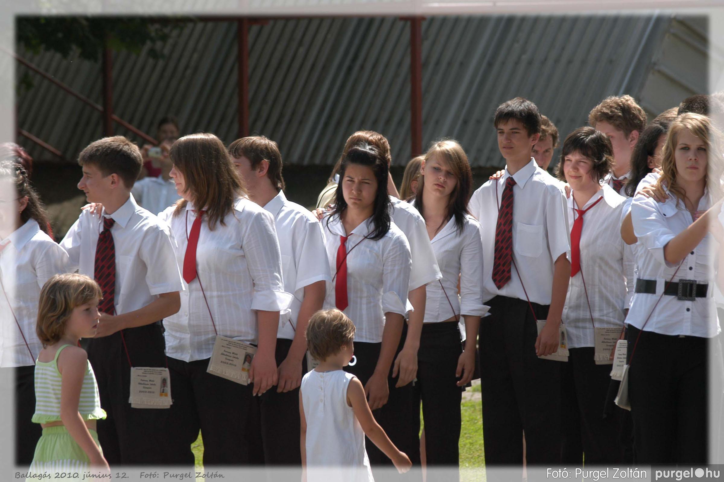 2010.06.12. 467 Forray Máté Általános Iskola ballagás 2010. - Fotó:PURGEL ZOLTÁN© 467.jpg