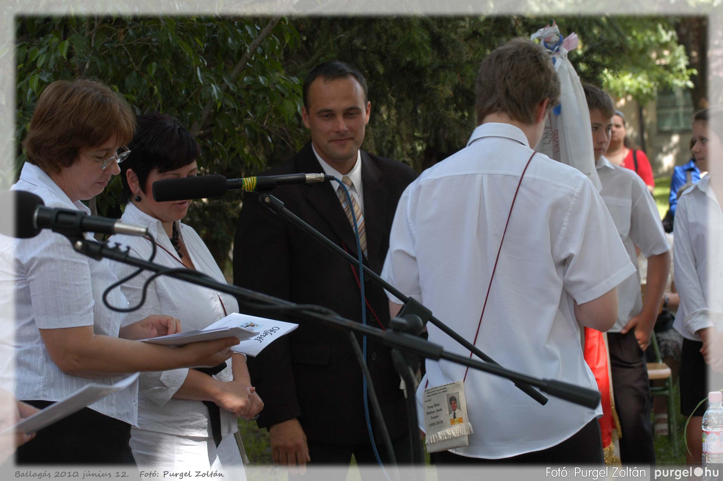 2010.06.12. 348 Forray Máté Általános Iskola ballagás 2010. - Fotó:PURGEL ZOLTÁN© 348.jpg