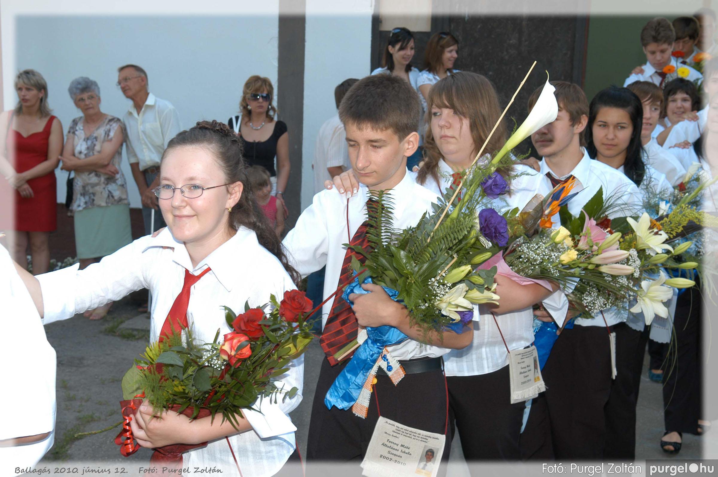 2010.06.12. 040 Forray Máté Általános Iskola ballagás 2010. - Fotó:PURGEL ZOLTÁN© 040.jpg