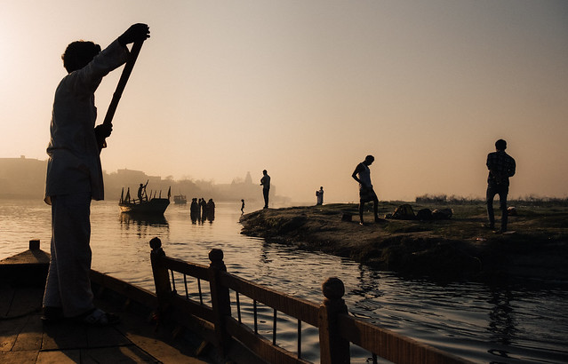 Mornings on the Ganges