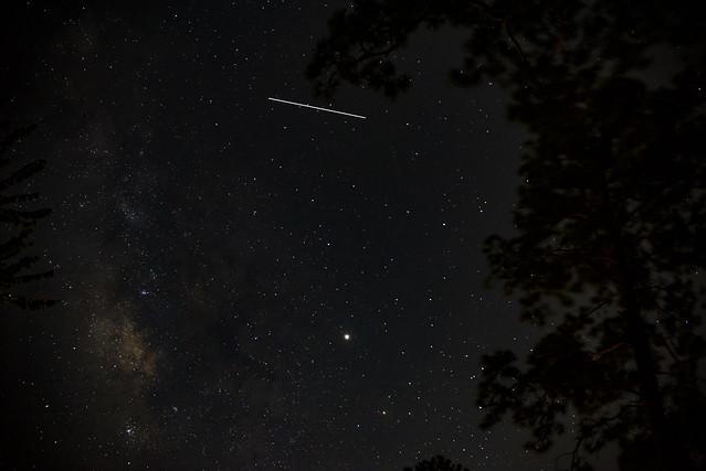Satellite or Shooting Star?