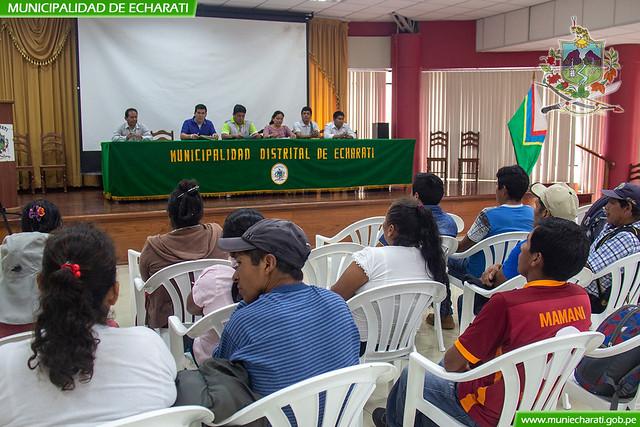 Entrega títulos de propiedad a pobladores de Ivochote