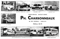 Charbonneau Early 1950s Creations